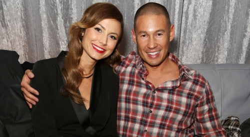 Stacy Keibler and her husband Jared Pobre