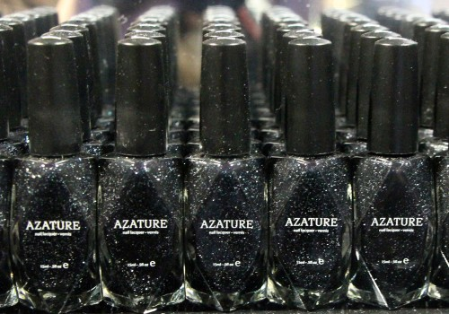 Black diamond nail polish by Azature